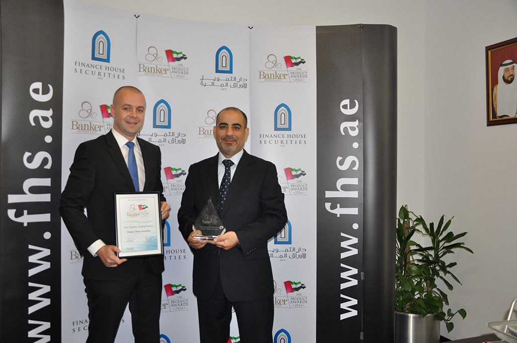 Finance House Securities Wins Best Equities Trading Services Award