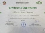 Finance House Securities gets SCA Certificate of Appreciation